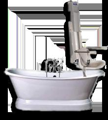 Sollevatore idrodinamico per vasca