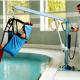Sollevatore elettrico per piscina
