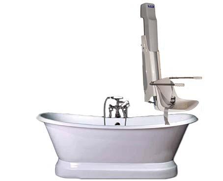 Sollevatore idrodinamico per vasca da bagno a parete ser ba - Sollevatore vasca da bagno ...
